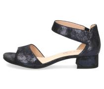 Klassische Sandaletten blau