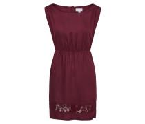 Sommerliches Kleid burgunder