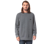Sweatshirt 'All Day Crew' dunkelgrau