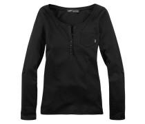 Langarmshirt schwarz