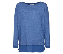 Shirt 'eos Fabric Mix T-Shirts' blau