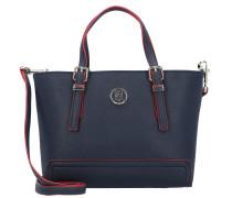 Handtasche 'Honey' nachtblau / rot