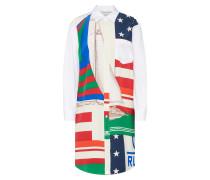 Kleider mischfarben / weiß