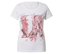 Shirt pink / weiß / schwarz