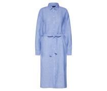 Kleid 'o2. Linen Chambray' hellblau