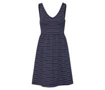 Kleid 'joy' blau / weiß