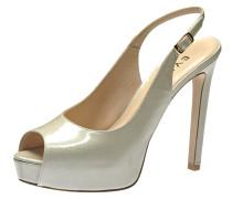Damen Sandalette offwhite
