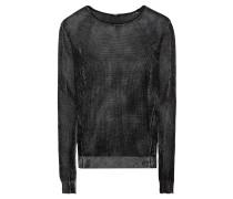 Pullover 'Walton Jaquard' grau / schwarz