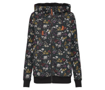 Sweatshirt 'onlSIGNE L/S AOP ZIP Hood Swt'