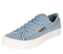 Sneaker Low rauchblau