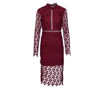 Kleid 'Alberta' burgunder