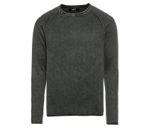 Pullover 'Knit - Malvin' anthrazit