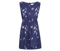 Sommerliches Kleid blau / weiß