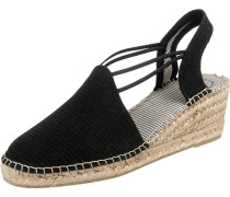 Sandale 'Tania' schwarz