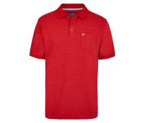 Piquee Polo rot