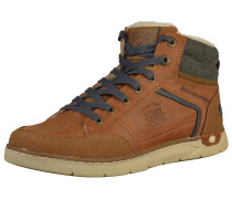 Sneaker navy / braun / dunkelgrau