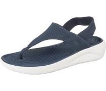 Komfort-Sandalen 'LiteRide Mesh Flip W Navy/Whi'