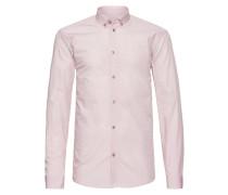 Freizeithemd 'ezio 2138' rosa / weiß