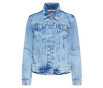 Jacke 'Thrift' blue denim
