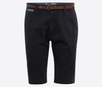 Chino Shorts 'solid Jim' nachtblau