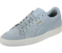 Sneaker 'Suede Classic Perforation' blau