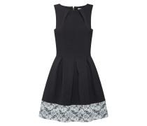Kleid 'd2747' schwarz / weiß