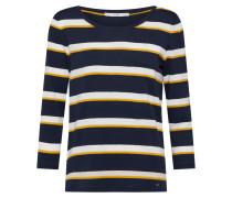 Shirt 'Clara' navy / weiß