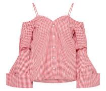 Bluse im Karostyle rot / weiß