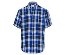 Hemd blau / nachtblau / weiß