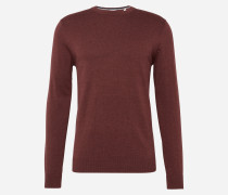Pullover 'Basic Co crew' rot