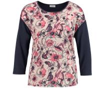 T-Shirt marine / pink / rosa