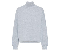 Pullover 'c+S Brushed OS Boxy' grau