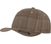 Cap 'Glen Check' braun / khaki