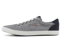 Sneaker graumeliert / blau / rot