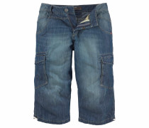 Bermudas blue denim