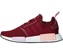 2cd54543f55304 Sneaker  nmd R1  bordeaux. adidas
