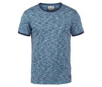 Rundhalsshirt 'Lex' blau