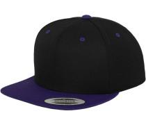Classic Snapback violettblau / schwarz