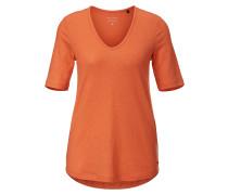 T-Shirt dunkelorange