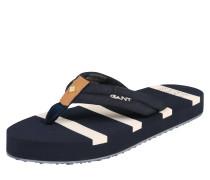 Slipper 'St Bart' blau