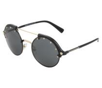 Casual Sonnenbrille mit Runden Gläsern