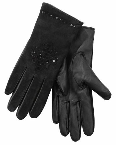 Lederhandschuhe schwarz