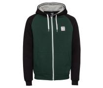 Sweatshirt 'De College' navy / grün