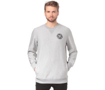Core Crew Fleece Sweatshirt graumeliert