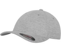 Cap 'Double Jersey' graumeliert
