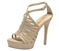 Sandalette nude