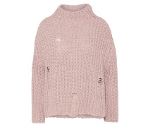 Pullover 'Oversized hole' rosa