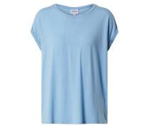 T-Shirt 'ava Plain' blau