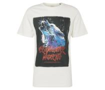Shirt 'future Tee' mischfarben / weiß
