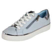 Sneaker hellblau / silber